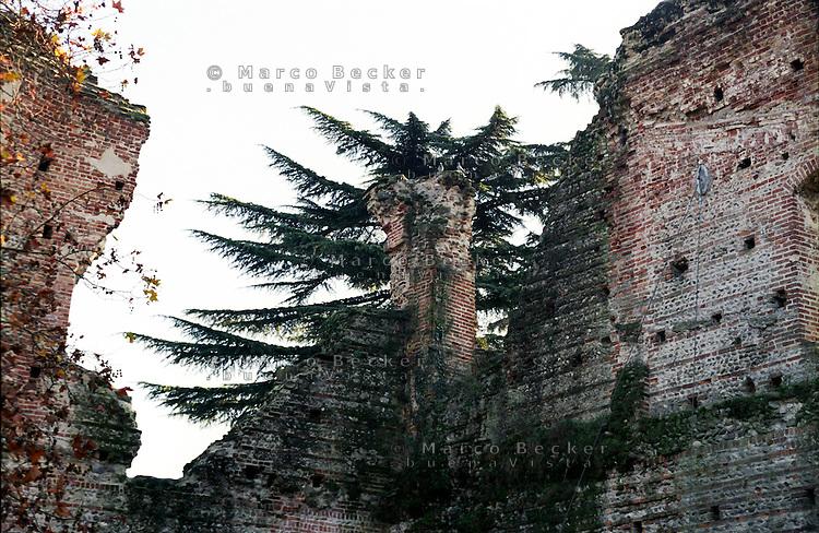 Trezzo sull'Adda (Milano), Castello visconteo --- Trezzo sull'Adda (Milan), Visconti Castle