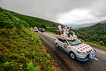 The publicity caravan before Stage 16 of the 2021 Tour de France, running 169km from Pas de la Case to Saint-Gaudens, France. 13th July 2021.  <br /> Picture: A.S.O./Aurelien Vialatte   Cyclefile<br /> <br /> All photos usage must carry mandatory copyright credit (© Cyclefile   A.S.O./Aurelien Vialatte)