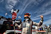 #6 Acura Team Penske Acura DPi, DPi:  Dane Cameron celebrates in victory lane, podium