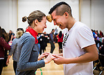 The University of Alberta Annual Round Dance at the Education Gym on Saturday, January 28, 2017.<br /> <br /> Credit: John Ulan