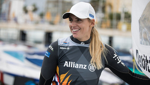 In her race for Tokyo gold, Annalise Murphy will be aiming to beat 2016 rival and Olympic gold medalist Marit Bouwmeester (above) on home waters in this week's Allianz Regatta, the last major test before Tokyo