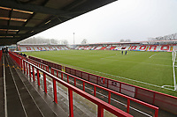 General view of the ground during Stevenage vs Swansea City, Emirates FA Cup Football at the Lamex Stadium on 9th January 2021