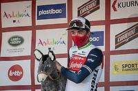Mads Pedersen (DEN/Trek - Segafredo) wins the 73rd Kuurne - Brussels - Kuurne 2021<br /> ME (1.Pro)<br /> 1 day race from Kuurne to Kuurne (BEL/197km)<br /> <br /> ©kramon