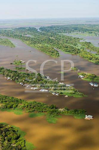 Manaus, Brazil. Archipelago with riberinho, riverine communities.
