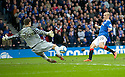 :: CELTIC'S FRASER FORSTER SAVES AT CLOSE RANGE FROM RANGERS' VLADIMIR WEISS ::