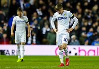 Leeds United's Jack Clarke reacts to going 3-0 down<br /> <br /> Photographer Alex Dodd/CameraSport<br /> <br /> The EFL Sky Bet Championship - Leeds United v Norwich City - Saturday 2nd February 2019 - Elland Road - Leeds<br /> <br /> World Copyright © 2019 CameraSport. All rights reserved. 43 Linden Ave. Countesthorpe. Leicester. England. LE8 5PG - Tel: +44 (0) 116 277 4147 - admin@camerasport.com - www.camerasport.com