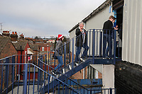General view of Grimsby Town fans arriving ahead of the Sky Bet League 2 match between Luton Town and Grimsby Town at Kenilworth Road, Luton, England on 23 December 2017. Photo by David Horn / PRiME Media Images.