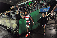 Counties' Hoskins Sotutu walks out for the 2021 Bunnings Warehouse Cup rugby match between Manawatu Turbos and Counties Manukau Steelers at CET Stadium in Palmerston North, New Zealand on Friday, 6 August 2021 Photo: Dave Lintott / lintottphoto.co.nz