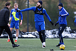 St Johnstone Training...   29.01.21<br />Shaun Rooney pictured during a training session at McDiarmid Park this morning ahead of tomorrows game at Kilmarnock.<br />Picture by Graeme Hart.<br />Copyright Perthshire Picture Agency<br />Tel: 01738 623350  Mobile: 07990 594431
