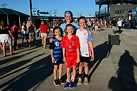 PHILADELPHIA, PA - AUGUST 29: Fans prior to a game between Portugal and USWNT at Lincoln Financial Field on August 29, 2019 in Philadelphia, PA.