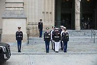 Funerailles du senateur republicain John McCain le 1er septembre 2018,a Wasgington<br /> <br /> PHOTO : agence Quebec Presse<br />  - Donovan Marks