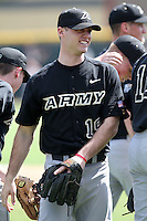March 13, 2010:  Chris Simpkins of Army vs. Long Island University Blackbirds in a game at Henley Field in Lakeland, FL.  Photo By Mike Janes/Four Seam Images