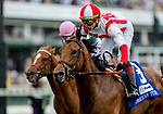 May 4, 2019 : #3 Digital Age, ridden by Irad Ortiz, Jr., wins the American Turf on Kentucky Derby Day at Churchill Downs on May 4, 2019 in Louisville, Kentucky. Kaz Ishida/Eclipse Sportswire/CSM