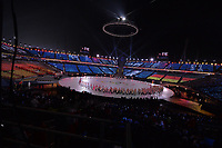 OLYMPIC GAMES: PYEONGCHANG: 09-02-2018, PyeongChang Olympic Stadium, Olympic Games, Opening Ceremony, Team Germany, ©photo Martin de Jong