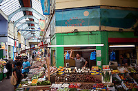 UK. London. 17th July 2010.Stalls in Brixton market..©Andrew Testa for the New York Times