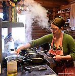 Andrea Burk, owner Snowberry Inn, Eden Utah<br /> near Snowbasin and Powder Mountain