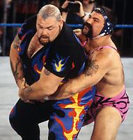 Bam Bam Bigalow Rick Steiner 1990                                         Photo By John Barrett/PHOTOlink