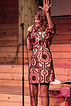 Sandra Bernhard at the Pines Pavilion Fire Island