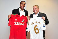 Swansea city fc sponsor awards... saturday 19th may 2013...<br /> <br /> <br /> <br /> Ashley Williams.