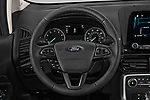Car pictures of steering wheel view of a 2018 Ford Ecosport Titanium 5 Door SUV