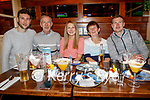 Brendan, George, Deirdre, Kathleen and Liam Poff from Blennerville enjoying the evening in the Mall Tavern on Saturday.