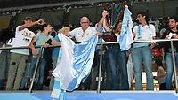 Esultanza Tifosi Recco <br /> Trieste 26/05/2019 Centro Federale Bruno Bianchi   <br /> Campionato Italiano Final Six Unipolsai <br /> Pallanuoto Uomini  <br /> Finale 1/2 posto <br /> AN Brescia - Pro Recco <br /> Foto Andrea Staccioli/Deepbluemedia/Insidefoto