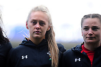 Hannah Jones of Wales during the Women's Six Nations match between Wales and Ireland at Cardiff Arms Park, Cardiff, Wales, UK. Sunday 17 March 2019