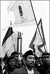 Summer '99-- Jakarta, Indonesia -- Hamzah Haz during a rally at the people's circle in Jakarta. Political life is tough on the world's most inhabited island in the world's biggest muslim nation.
