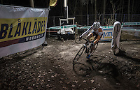 Marianne Vos (NED) leading the way<br /> <br /> Elite Women's race<br /> Superprestige Diegem 2016