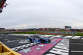 Monster Energy NASCAR Cup Series<br /> Bank of America 500<br /> Charlotte Motor Speedway, Concord, NC<br /> Sunday 8 October 2017<br /> Martin Truex Jr, Furniture Row Racing, Auto-Owners Insurance Toyota Camry drives under the checkered flag to win<br /> World Copyright: Russell LaBounty<br /> LAT Images