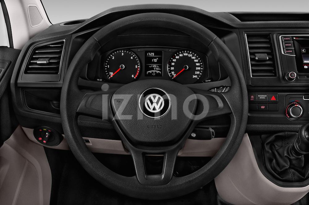 Car pictures of steering wheel view of a 2016 Volkswagen Transporter-Furgon - 4 Door Cargo Van Steering Wheel