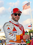 E.J. Viso (5) driver of the CITGO/PDVSA KV Racing Technology car, in action during the IZOD Indycar Firestone 550 race at Texas Motor Speedway in Fort Worth,Texas. Justin Wilson (18) driver of the Sonny's BBQ car wins the Firestone 550 race...