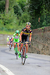 Rodolfo A. Torres Agudelo (COL) Colombia team on the final climb of Superga near the finish of the 2015 96th Milan-Turin 186km race starting at San Giuliano Milanese, Italy. 1st October 2015.<br /> Picture: Eoin Clarke | Newsfile