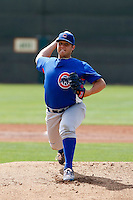 Ryan Searle - Chicago Cubs - 2009 spring training.Photo by:  Bill Mitchell/Four Seam Images