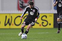 DC United midfielder Ben Olsen (14) Chicago Fire tied DC United 1-1 at  RFK Stadium, Saturday March 28, 2009.