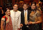 Shakti and Sam Dalal with Shreyas and Niki Nanavati at the UNICEF Mystique of India gala at the InterContinental Hotel Saturday Sept. 27,2008.(Dave Rossman/For the Chronicle)