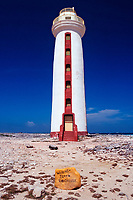 Willemstoren Lighthouse, Bonaire, Netherland Antilles, Caribbean Sea, Atlantic Ocean