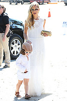 PACIFIC PALISADES, CA, USA - OCTOBER 11: Skyler Morrison Berman, Rachel Zoe arrive at the 5th Annual Veuve Clicquot Polo Classic held at Will Rogers State Historic Park on October 11, 2014 in Pacific Palisades, California, United States. (Photo by Xavier Collin/Celebrity Monitor)