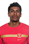 Paulinho of Guangzhou Evergrande poses for the official photo prior to the Guangzhou Evergrande vs Gamba Osaka match as part the AFC Champions League 2015 Semi Final 1st Leg match on September 29, 2015 at  Tianhe Sport Center in Guangzhou, China. Photo by Aitor Alcalde / Power Sport Images