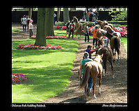 As seen in the Arabian Horse Galleries exhibit at The Kentucky Horse Park<br /> <br /> Delaware Park Saddling Paddock