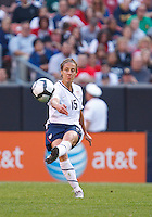 22 MAY 2010:  USA's Kate Markgraf #15 during the International Friendly soccer match between Germany WNT vs USA WNT at Cleveland Browns Stadium in Cleveland, Ohio. USA defeated Germany 4-0 on May 22, 2010.