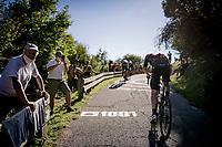 Eddie Dunbar (IRE/INEOS) up the brutal Muro di Sormano (avg 17%/max 25%)<br /> <br /> 114th Il Lombardia 2020 (1.UWT)<br /> 1 day race from Bergamo to Como (ITA/231km) <br /> <br /> ©kramon