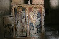 Matera, i Sassi Le chiese rupestri, affreschi interni