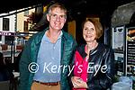 Enjoying the Brogue Inn on Saturday evening, l to r: Tim and Ellen Mangan