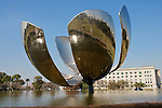 Floralis Generica, Steel Flower Or Gigantic Flower