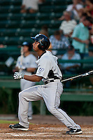 Anthony Gose of the Dunedin Blue Jays during the game at Jackie Robinson Ballpark in Daytona Beach, Florida on August 12, 2010. Photo By Scott Jontes/Four Seam Images
