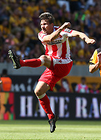 Michael Parensen      <br /> / Sport / Football /   2.Bundesliga  DFL /  2017/2018 / 13.05.2018 / SG Dynamo Dresden SGD vs. 1.FC Union Berlin FCU 180513038 /      <br />     *** Local Caption *** © pixathlon<br /> Contact: +49-40-22 63 02 60 , info@pixathlon.de