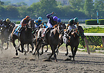 09 May 25: Alan Garcia rides Bribon to victory in the 116th running of the grade 1 Metropolitan Handicap for three year olds  and upwards at Belmont Park in Elmont, New York.