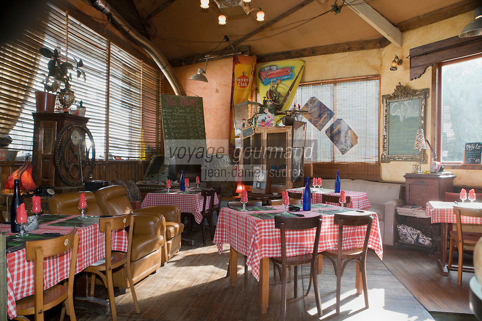 """Europe/France/Bretagne/29/Finistère/ Quimperlé: Restaurant """"La Mouche qui louche"""""""
