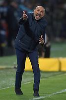 Luciano Spalletti of Internazionale reacts during the Serie A 2018/2019 football match between Frosinone and FC Internazionale at stadio Benito Stirpe, Frosinone, April 14, 2019 <br /> Photo Andrea Staccioli / Insidefoto
